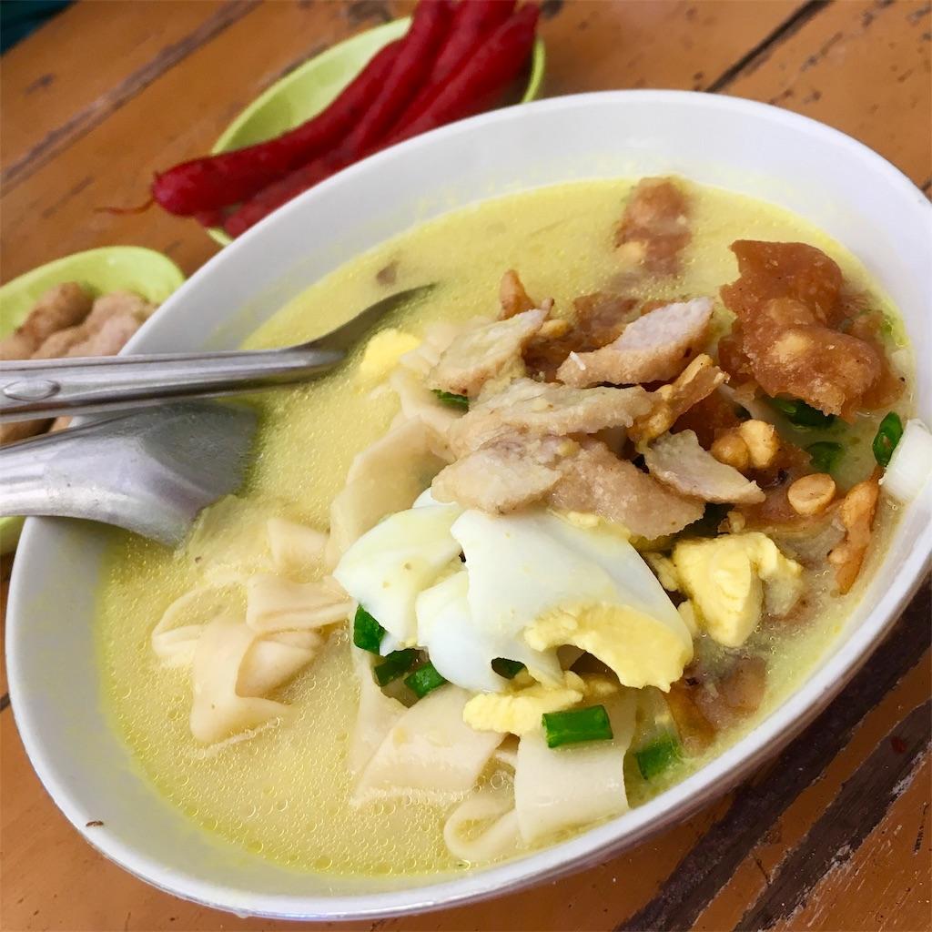 ミャンマー料理 オンノウカオスエ