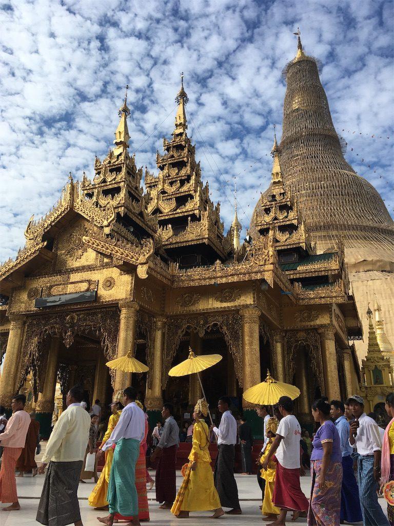 ミャンマー シュエダゴンパゴダ