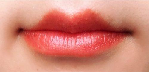 ツヤツヤの唇