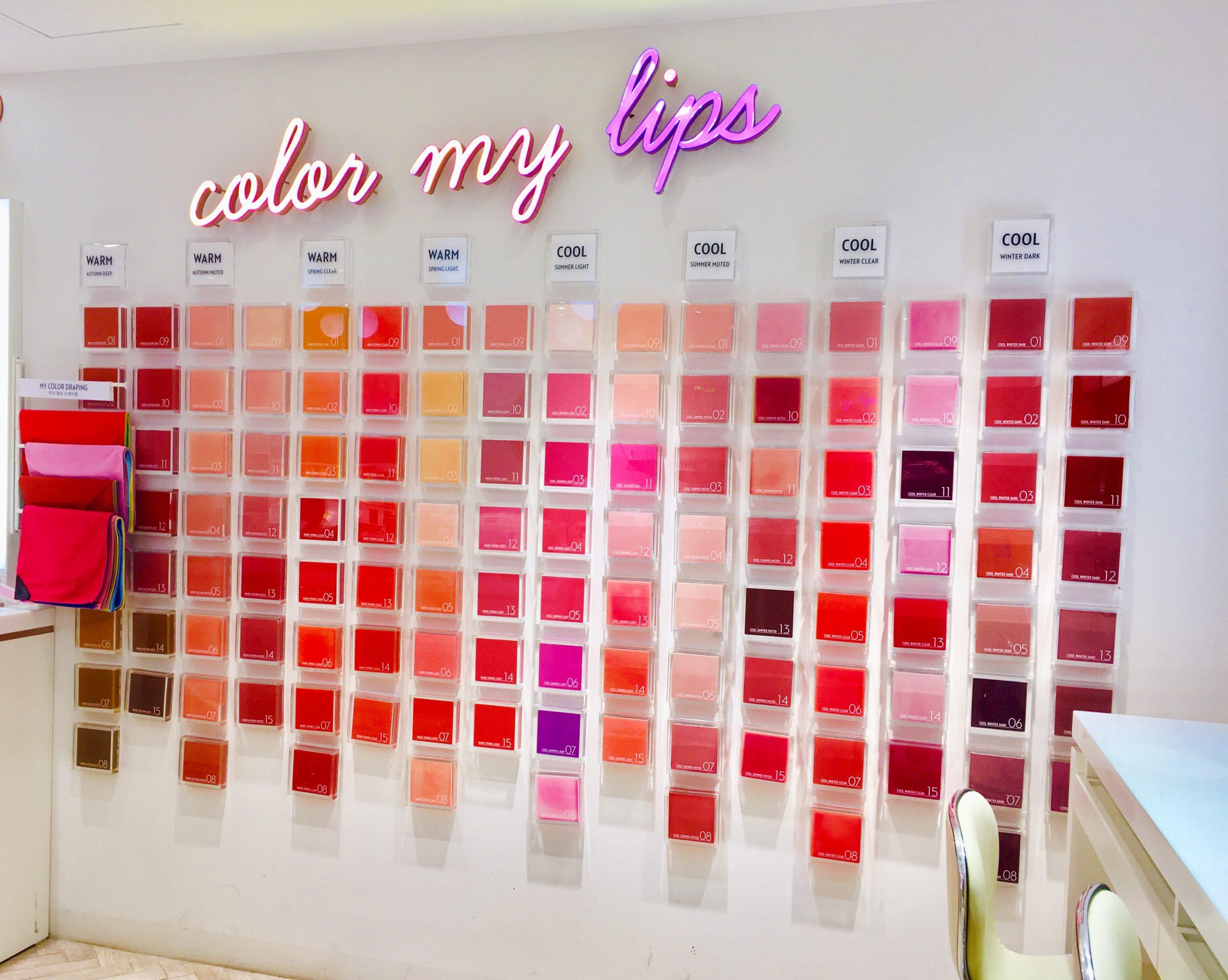 エチュードハウス パーソナルリップスティック 明洞 ミョンドン オリジナルリップ アイシャドウ ファンデーション カラー診断 カラーファクトリー color factory
